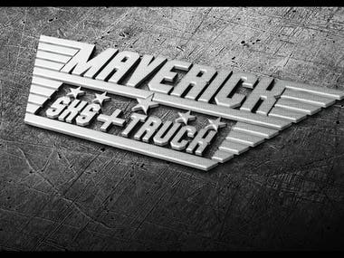 MAVERICK logo design
