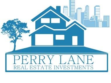 PERRY LANE logo design