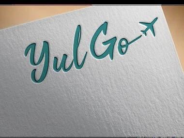 YUL GO logo design