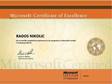 Microsoft certificate 2