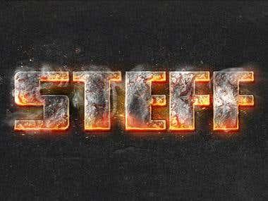 STEFF on fire