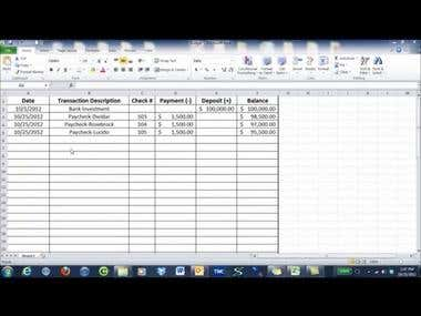 How-To Video - MS Excel 1