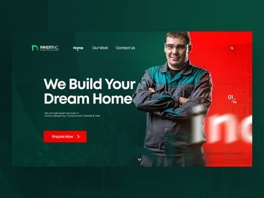 Website Design | Panditinc Construction Company