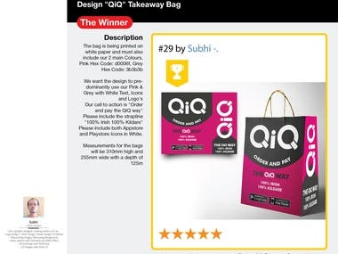 Packaging design - The Winner Contest