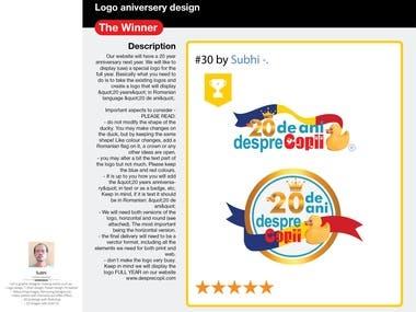 Logo design - The Winner Contest