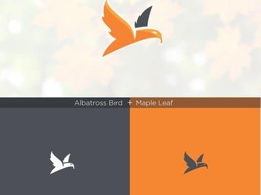 bird and leaf