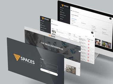 Rent a desk service website