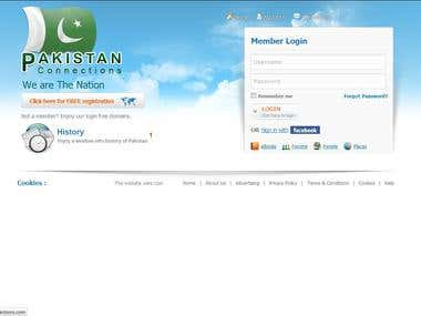 PHP CodeIgniter (Pakistan Connections)