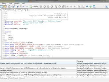 MT5 Coding