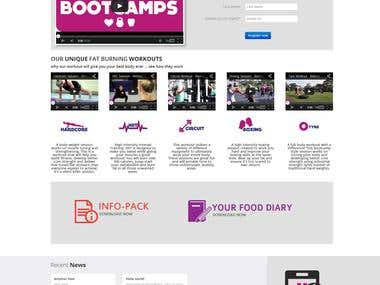 BelindaCarusiBootcamps Wordpress Website