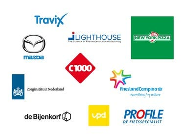 Big national and international brands i worked for
