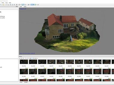 Photogrammetry 3D model with Agisoft Metashape