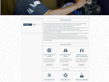 MBC India Wordpress Website