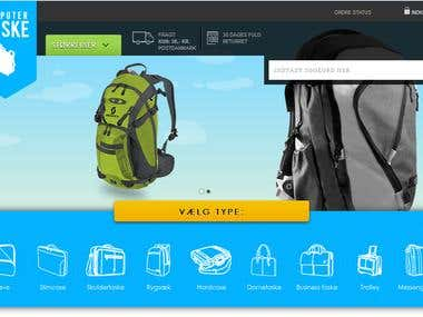 Pastashop Ecommerce website