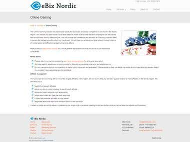 Udesign Wordpress template (www.ebiznordic.com)