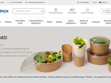 eCommerce (Magento & Wordpress)