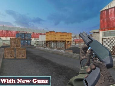 Shooting Game 3D Free 2020