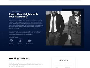 Recruitment website.