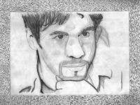 Drawing of Adrain Paul