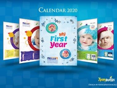 Calender Design 2020
