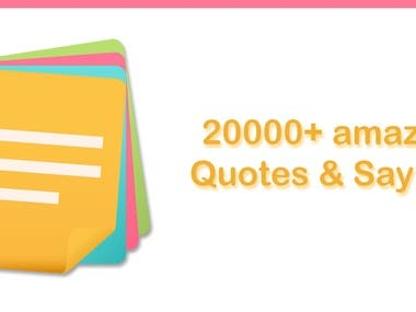 20000+ Best Quotes & Sayings