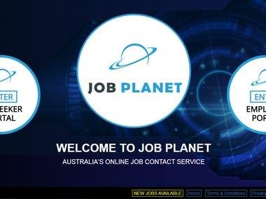 Job Planet. Custom Programmed Portal