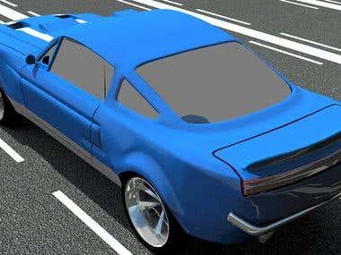 Mustang 3D