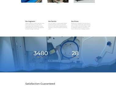 "Website with ""DIVI"" theme"