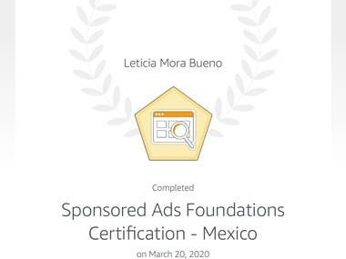 Amazon Certification / Certificación