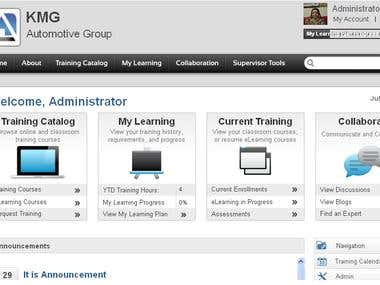 SaaS based Learning Management System