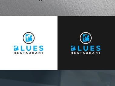Blues Restaurant logo