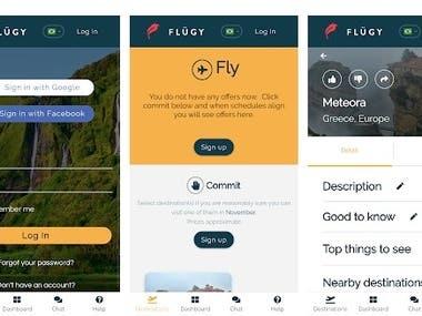 Flugy Mobile App