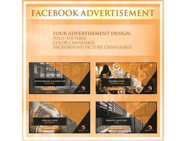 Facebook Advertisement Design