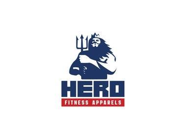 LOGO - Hero Fitness Apparels