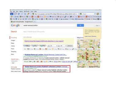 2nd spot on Google.co.uk