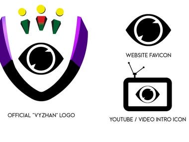 Vyzhan Logo and Mini Social Media Package