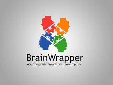 Logo Design - Brain Wrappers