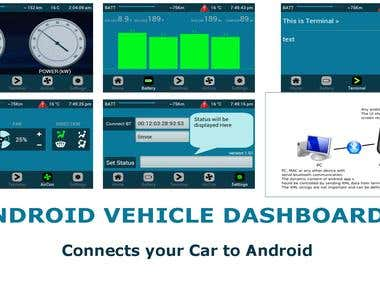 Android Vehicle Dashboard