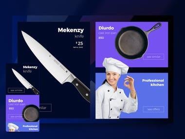 Online Shop Web UI