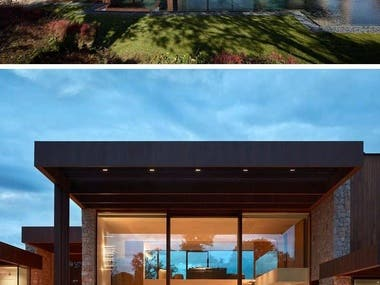 Exterior Design and rendering