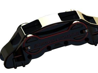 Custom front brakes