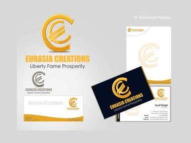 Corporate Identity Kit: Eurasia Creations