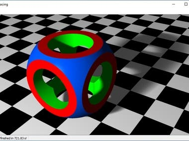 RayTracer in C++/Qt
