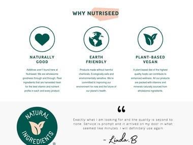 Buy Quality Natural Seeds, Powder & Ingredients | Nutriseed