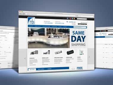 Magento E-commerce Site