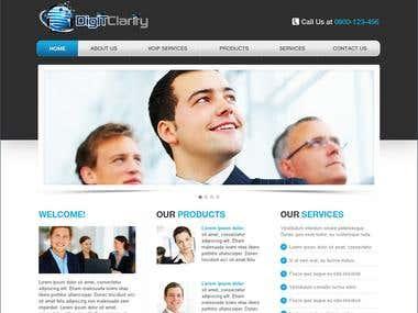 website for client