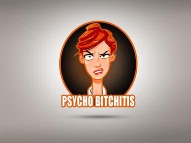 Angry Woman Logo Design
