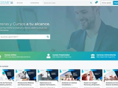 Education Web Service