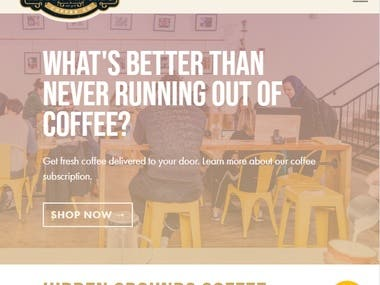 Wordpress/Woocommerce Site