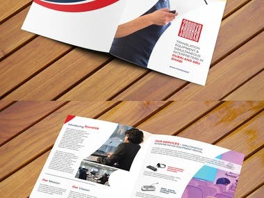 SoundXB Translation Sercives Brochure